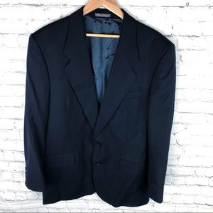 Men's Navy YSL Yves St Laurent Blazer